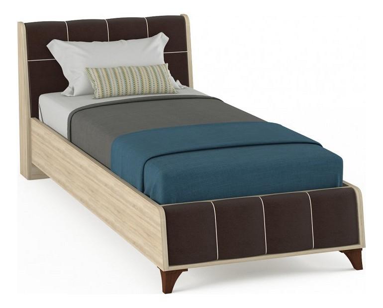 Кровать односпальная MOBI Келли 90 кровать mobi линда 303 90 кровать с пм дуб сонома белый