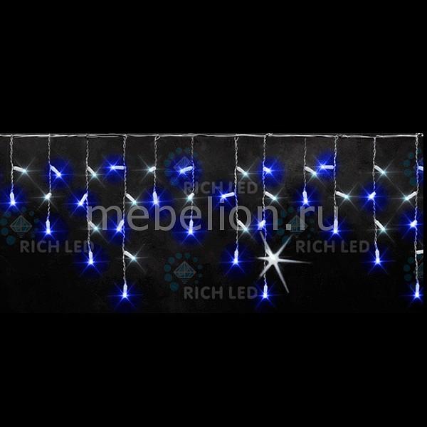 Бахрома световая (3х0.5 м) RichLED RL-i3*0.5-T/BW бахрома световая 3х0 5 м richled rl i3 0 5 t v