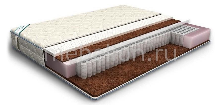 Матрас полутораспальный Дрема Etalon Мидл Эконом 2000х1400 матрас полутораспальный sonum comfort 120 200