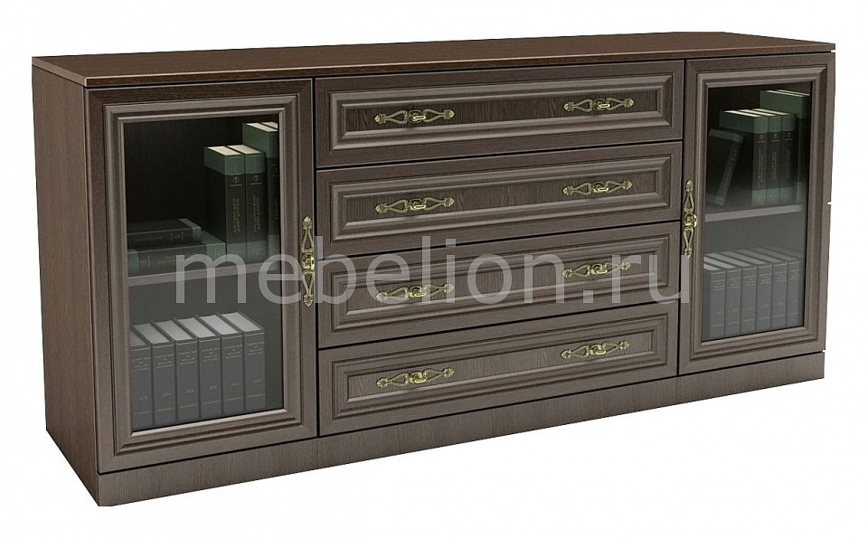 Тумба-витрина ВМФ-Мебель Карлос-065