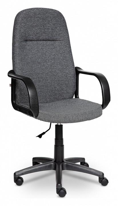 Кресло компьютерное Leader серое  купить пуфик для прихожей в минске