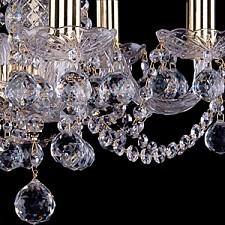 Подвесная люстра Bohemia Ivele Crystal 1402/5/141/G/Balls 1402