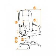 Кресло компьютерное Devon коричневое