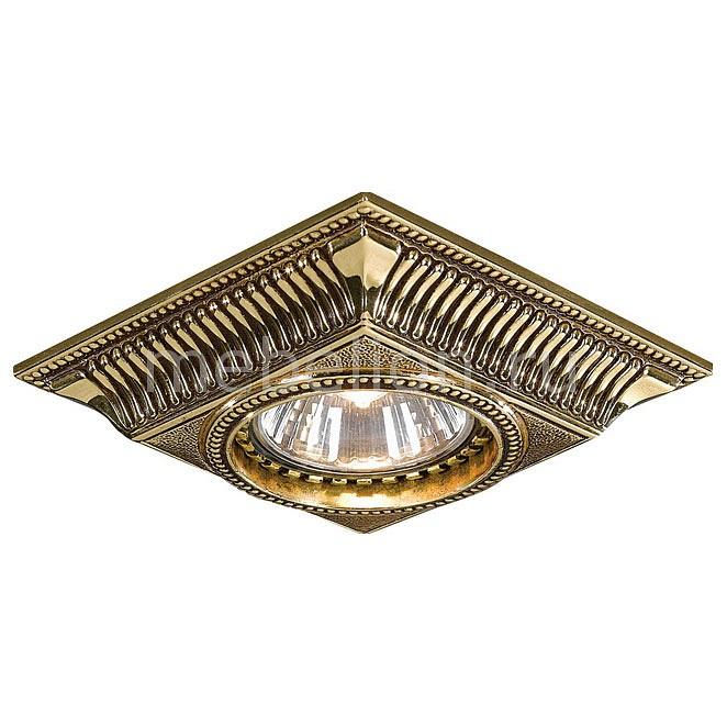 Встраиваемый светильник Reccagni Angelo SPOT 1084 ORO reccagni angelo spot 1097 oro
