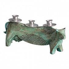 Подсвечник декоративный (31.5х14.7 см) Корова 1101401-T07 CF