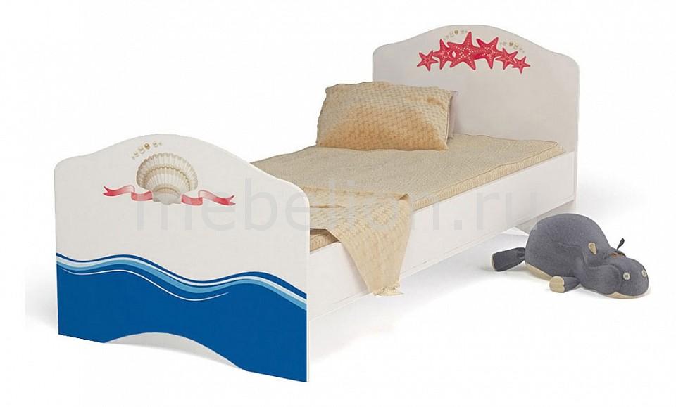 Кровать Ocean  комод пеленальный береза