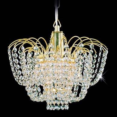 Подвесной светильник Preciosa Brilliant 45 3117 001 07 00 03 40 бисер прозрачный с цв центром и покрытием 10 0 38695 круг отв 50гр preciosa