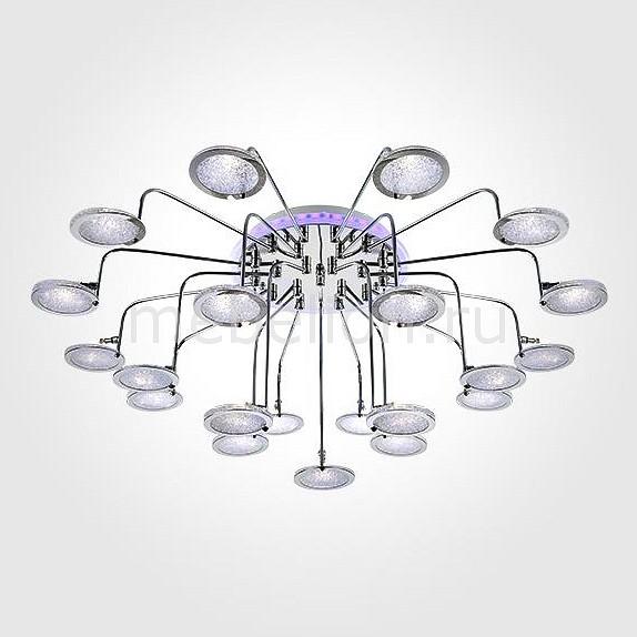 Накладной светильник Eurosvet 80109/21 хром/синий+фиолетовый