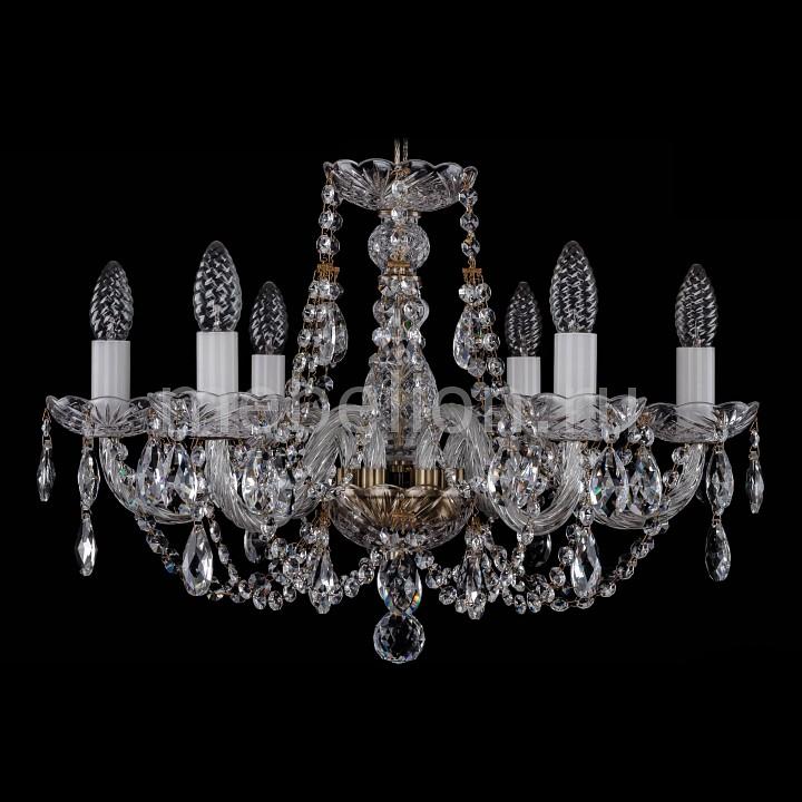 Подвесная люстра Bohemia Ivele Crystal 1406/6/195/Pa 1406