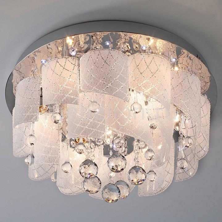 Купить Накладной светильник 80117/8 хром/белый, Eurosvet, Китай