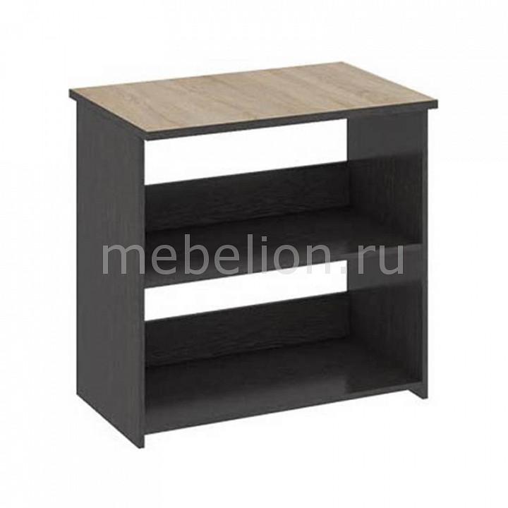 ТриЯ Надстройка для стола Успех-2 ПМ-184.07 венге цаво/дуб сонома мебель трия надстройка для стола успех 2 пм 184 10 венге цаво дуб сонома