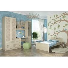 Гарнитур для спальни Дженни Cilegio Nostrano/Granite Rose