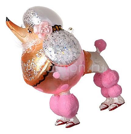 Елочная игрушка (11 см) Пудель 785-012