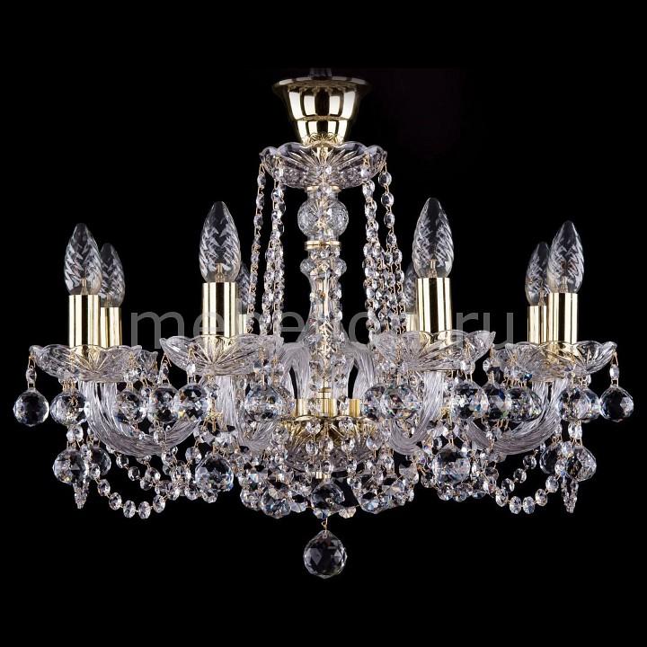 Подвесная люстра Bohemia Ivele Crystal 1402/8/195/G/Balls/Tube bohemia ivele crystal подвесная люстра bohemia ivele 1402 8 195 g balls tube