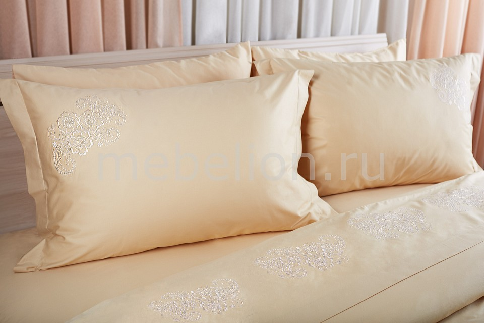 Купить Комплект двуспальный Hania, Primavelle, Италия, бежевый, хлопок 100%