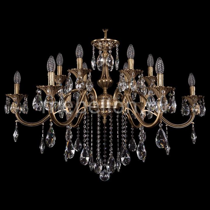 Подвесная люстра Bohemia Ivele Crystal 1703/12/360/B/FP 1703