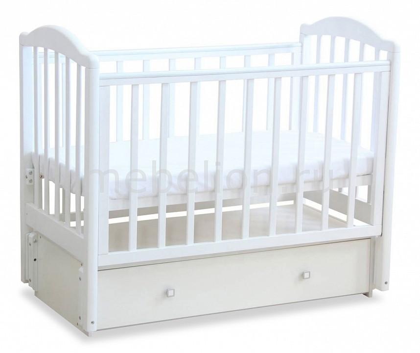 Кроватка Фея Фея 660 детская кроватка фея 600 белый лайм