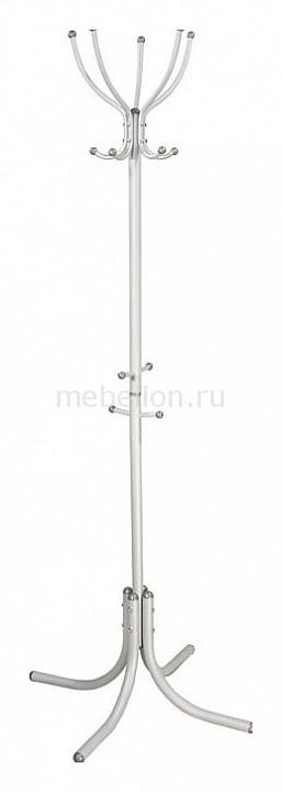 Вешалка напольная Мебелик Вешалка-стойка М-10 алюминий мебелик м 10