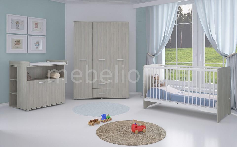 Гарнитур для детской Polini Simple Nordic  комод пеленальный антел ульяна 6