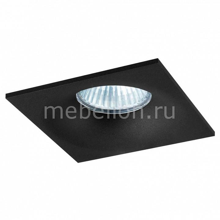 Встраиваемый светильник Donolux DL18413/11WW-SQ Black donolux donolux светильник встраиваемый mr16 макс 50вт gu10 ip20 блестящий черный черный d110х95 мм б