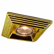 Встраиваемый светильник Arte Lamp A5249PL-1GO Plaster