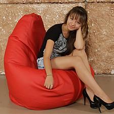Кресло-мешок Красная кожа I