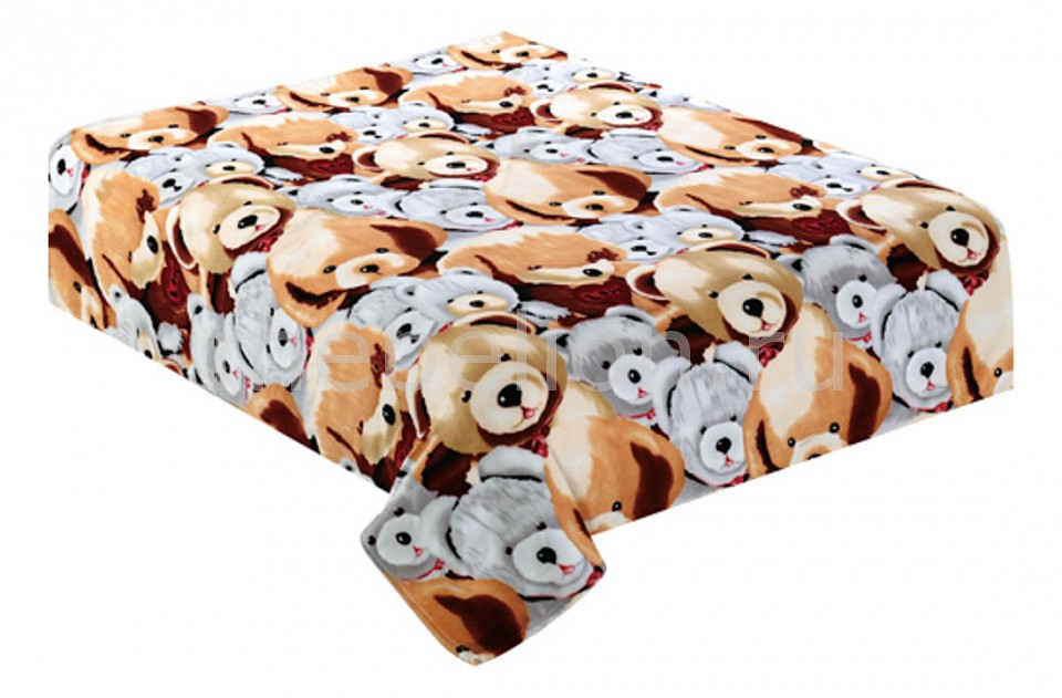 где купить  Плед TexRepublic (180х220 см) Мишки  по лучшей цене