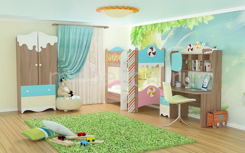 Гарнитур для детской Пряничный домик №2