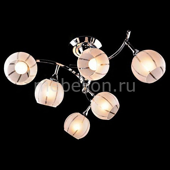 Светильник на штанге Eurosvet 3353-3457 3353/6 хром/белый