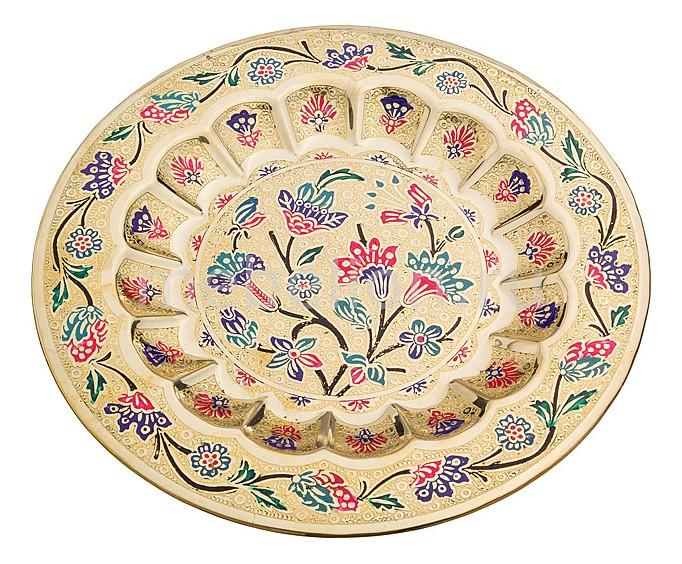 Блюдо декоративное (24 см) 877-232