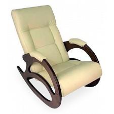 Кресло-качалка Мебелик Тенария 1 слоновая кость