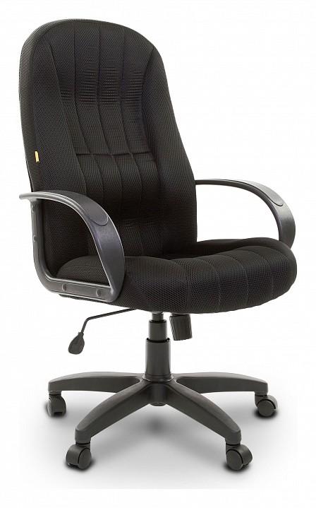 Кресло компьютерное Chairman 685 черный/черный  пуфик своими руками из ткани