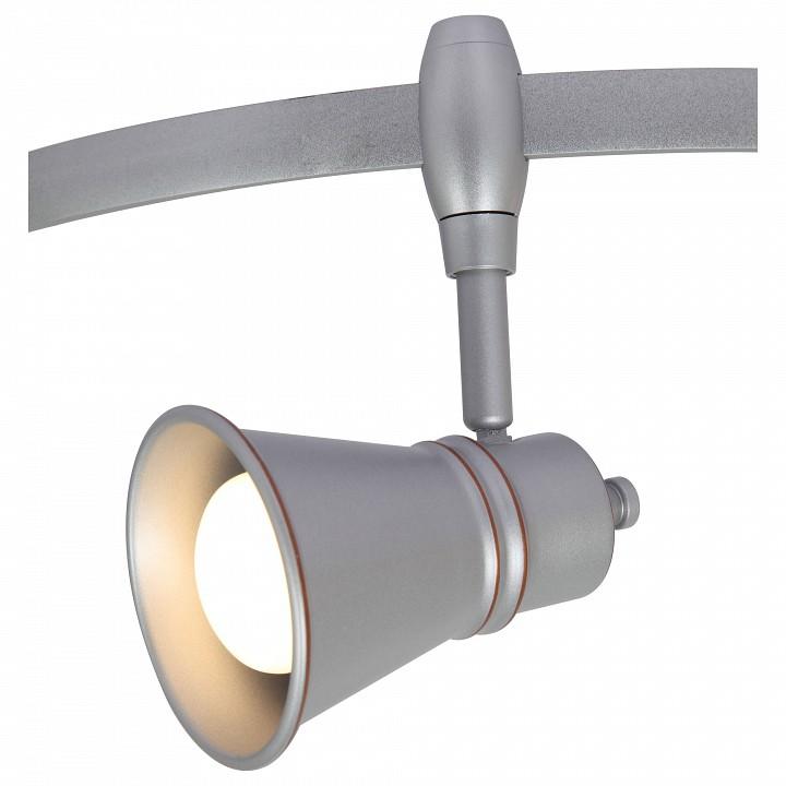 Фото - Светильник на штанге Arte Lamp Rails A3057PL-1SI Rails A3057 A3057PL-1SI комплект arte lamp rails a3057pl 6wh rails a3057 a3057pl 6wh