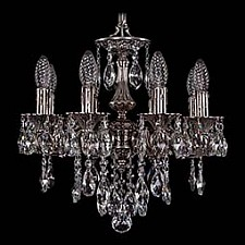 Подвесная люстра Bohemia Ivele Crystal 1707/8/125/B/NB 1707