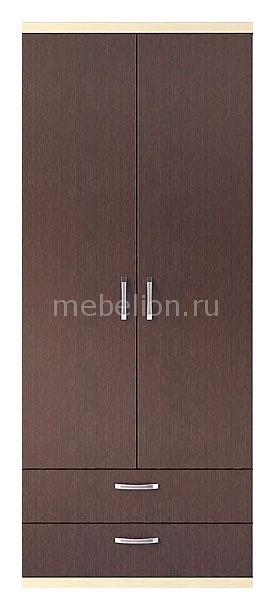 Шкаф платяной Гриф МА-361 дуб феррара/клен/венге
