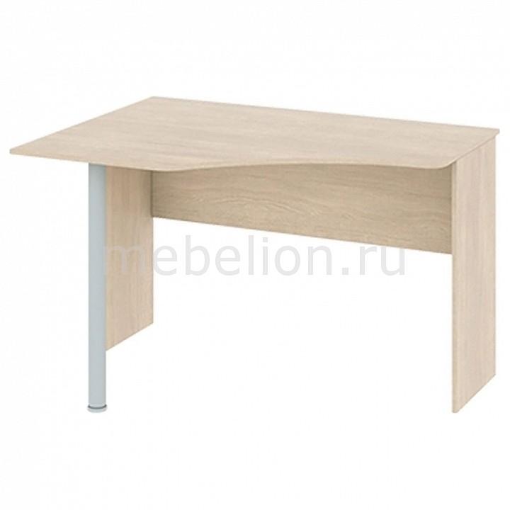 Стол офисный Мебель Трия Стол компьютерный угловой Тетрис ПМ-154.10 ясень белладжио/хром