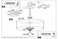 Подвесной светильник Eglo 31571 Pasteri