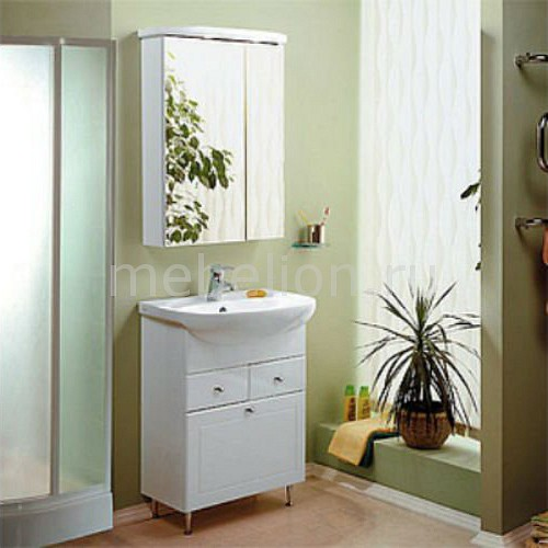 Набор для ванной Акватон Норма 65 белый