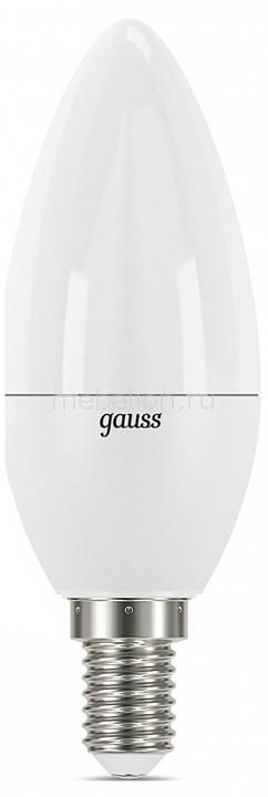 Лампа светодиодная Gauss E14 7Вт 150-265В 3000K 103101107-D