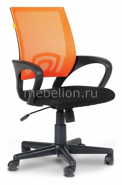 Кресло компьютерное Chairman 696 оранжевый/черный  для крепления тумбочек