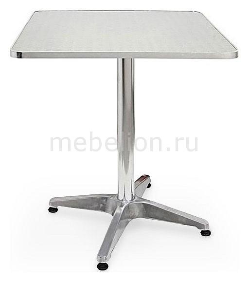 Стол обеденный LFT-3125 серебристый металлик, Afina, Россия  - Купить