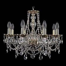 Подвесная люстра Bohemia Ivele Crystal 1611/8/195/GB 1611