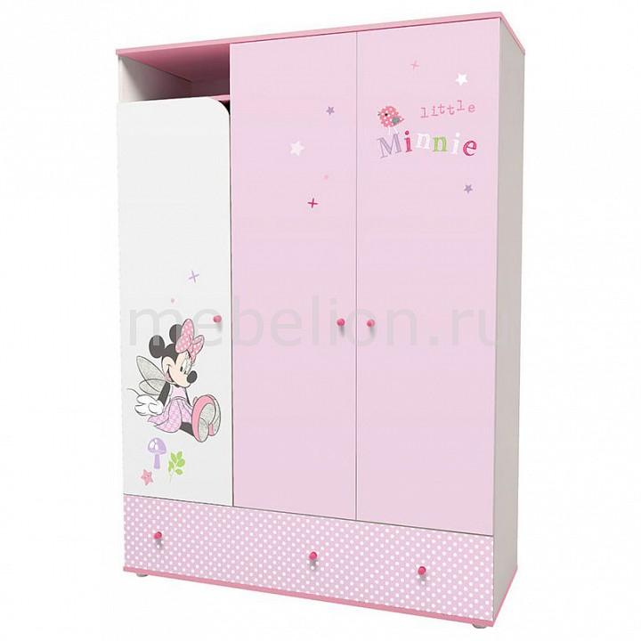 Шкаф платяной Polini Polini kids Disney baby трехсекционный цена 2017