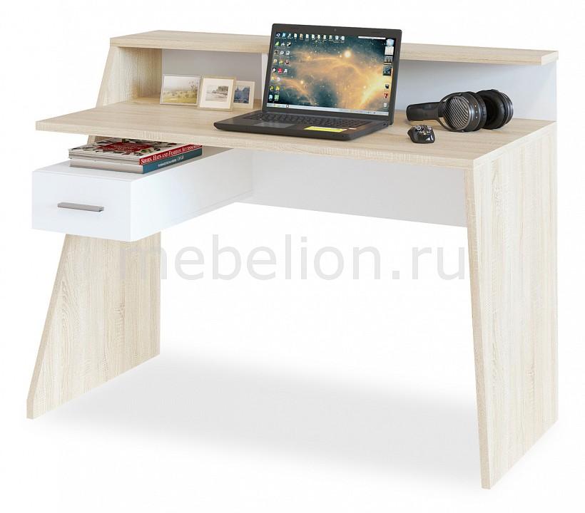 Стол письменный Сокол КСТ-108 стол компьютерный сокол кст 104 1 испанский орех правый