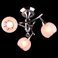 Светильник на штанге 3353-3457 3353/3 хром/розовый