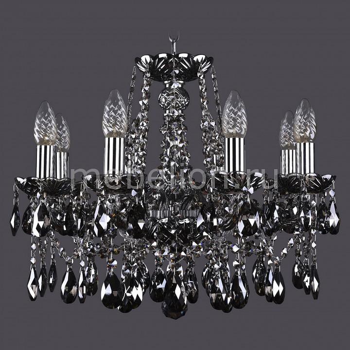 Подвесная люстра Bohemia Ivele Crystal 1413/8/165/NI/M781 1413