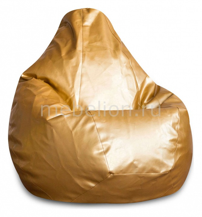 Кресло-мешок Dreambag Золото ЭкоКожа XL цена