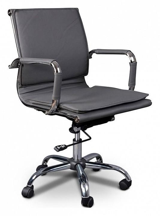 Кресло компьютерное Бюрократ Бюрократ CH-993-low серое кресло компьютерное бюрократ бюрократ ch 993 low светло коричневое