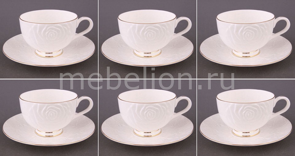 Чайный набор Porcelain manufacturing factory Blanco 264-307 менажница porcelain manufacturing factory 388 097