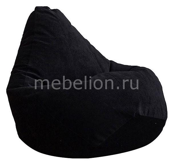 Кресло-мешок Dreambag Черный Микровельвет XL